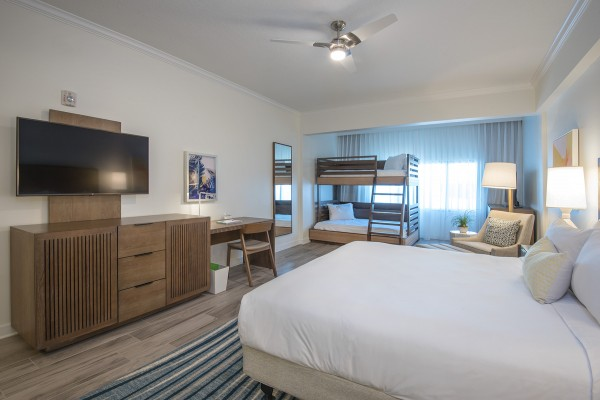 Hawks Cay Family Guestroom