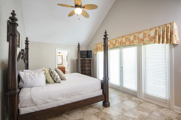 Duck Key Florida Villa Rental Master Bedroom
