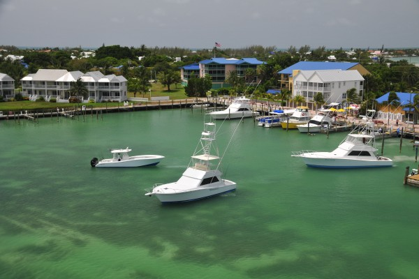 Marina at Hawks Cay in the Florida Keys