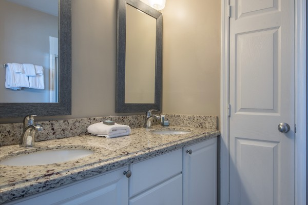 Marina Village Villa Rental Bathroom in Duck Key, Florida