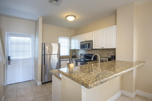 Hawks Cay Villas Harbor Village Townhouse Kitchen in the Florida Keys