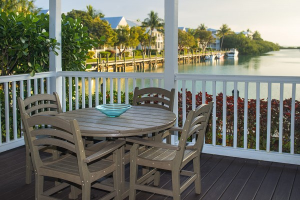 Hawks Cay Villas Harbor Village Marina View Balcony in the Florida Keys