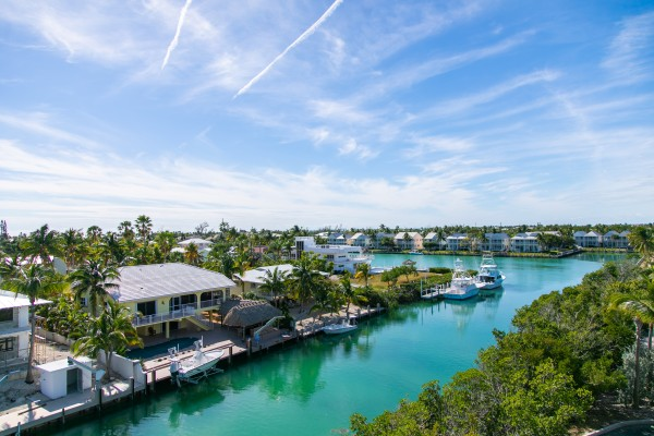 Florida Keys Luxury Vacation Rental Home Rooftop Terrace View