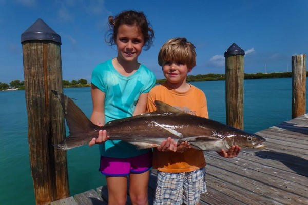 Fishing charters for family vacation