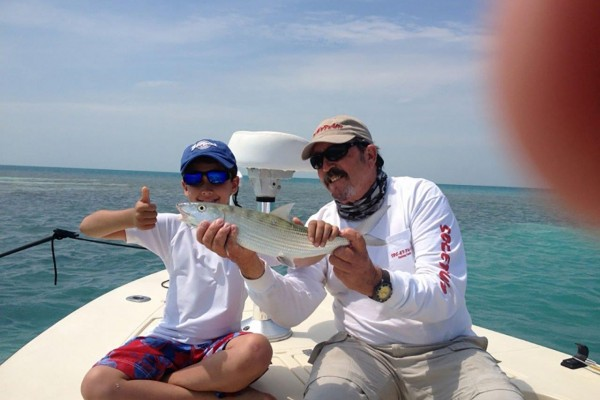 Family friendly fishing charters in Florida