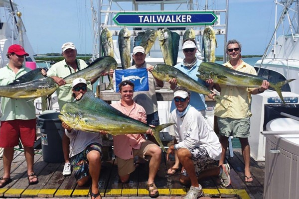 fishing charters at Hawks Cay