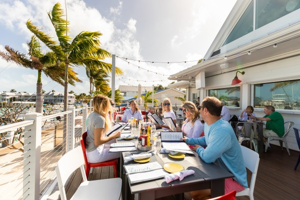 Florida Keys seaside dining at Angler and Ale