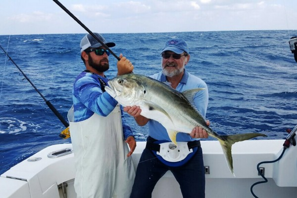 Trophy fish caught on Tailwalker fishing charter at Hawks Cay Resort in the Florida Keys