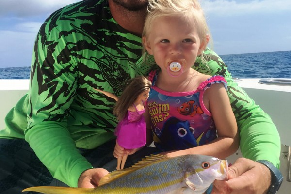 Yellowfin tuna caught on the Tailwalker fishing charter in the Florida Keys