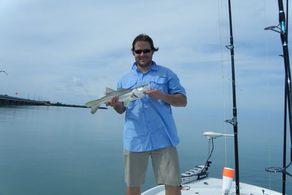Snapper caught on I'm Hooked fishing charter at Hawks Cay Resort in the Florida Keys