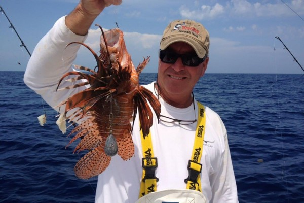 Deep sea fish caught on Snapshot fishing charter at Hawks Cay Resort in the Florida Keys