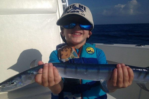 Family friendly fishing charter Snapshot at Hawks Cay Resort in the Florida Keys